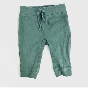 Forest green baby pants